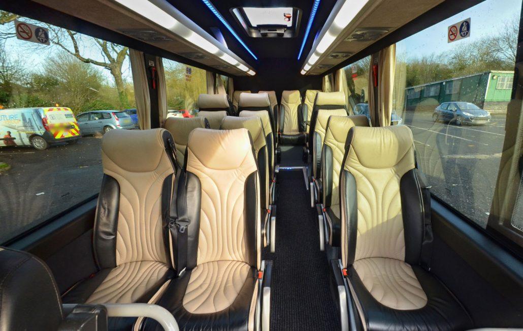 Inside of Minibus