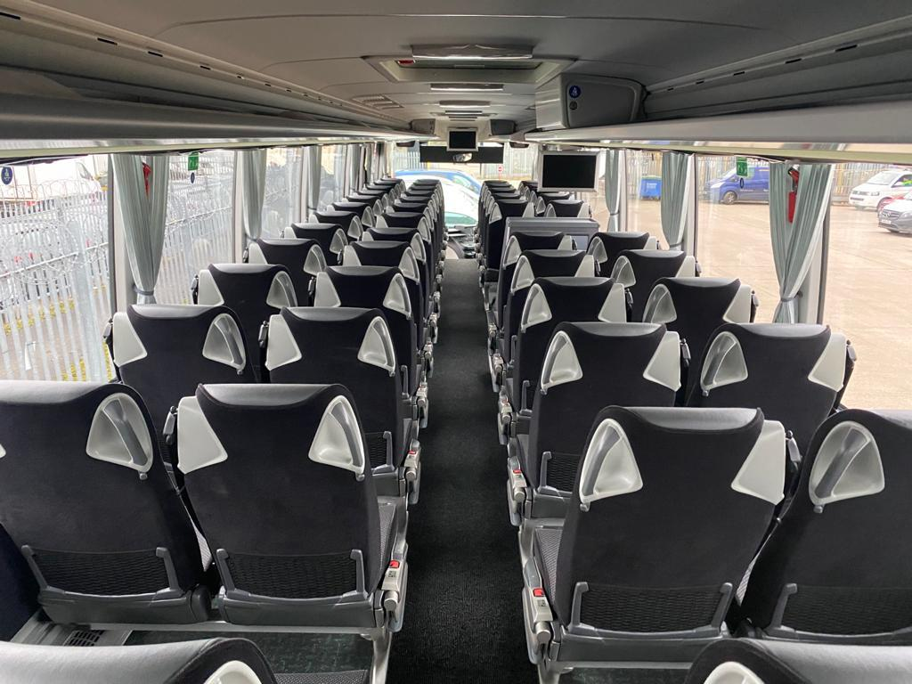 Inside of DDA Coach